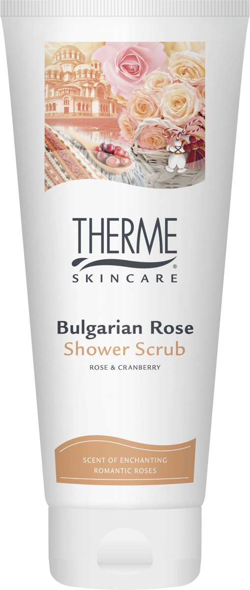 Therme Bulgarian Rose Shower Scrub 200ml