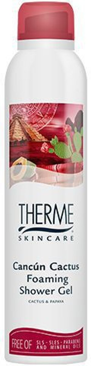 Therme Cancun Cactus - 200 ml - Foaming Shower Gel