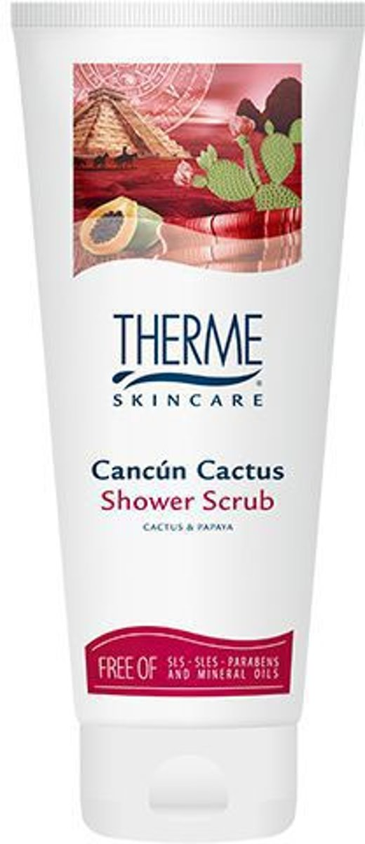 Therme Cancun Cactus - 200 ml - Shower Scrub