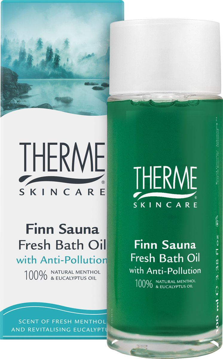 Therme Finn Sauna Fresh Bath Oil 100ml