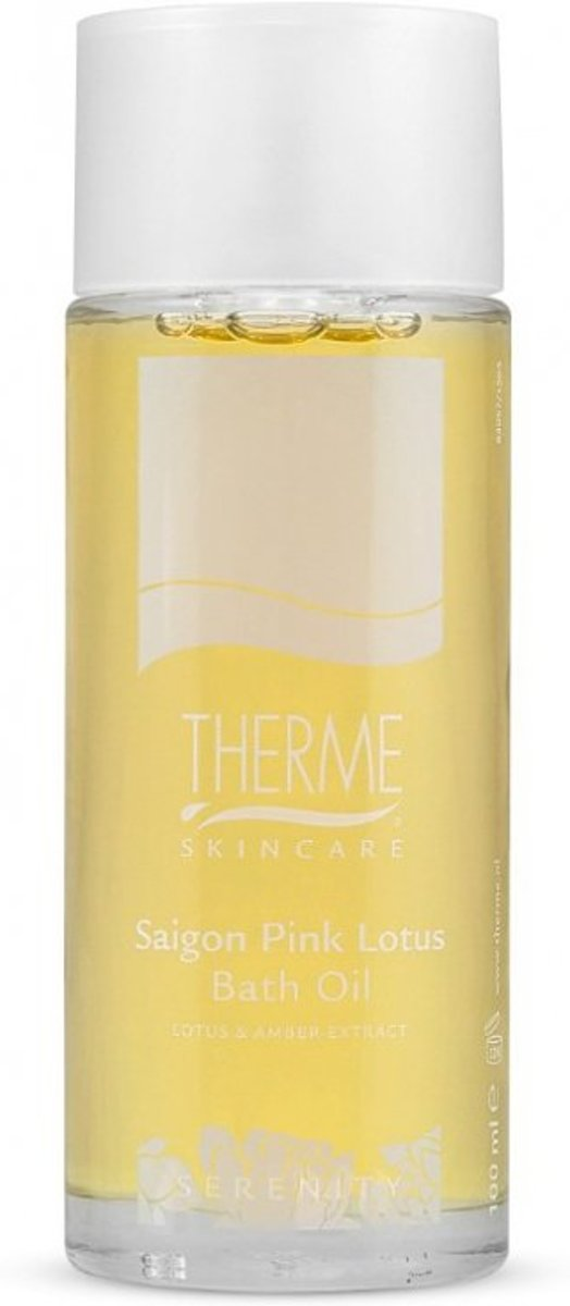 Therme Saigon Pink Lotus Bad Olie 100 ml