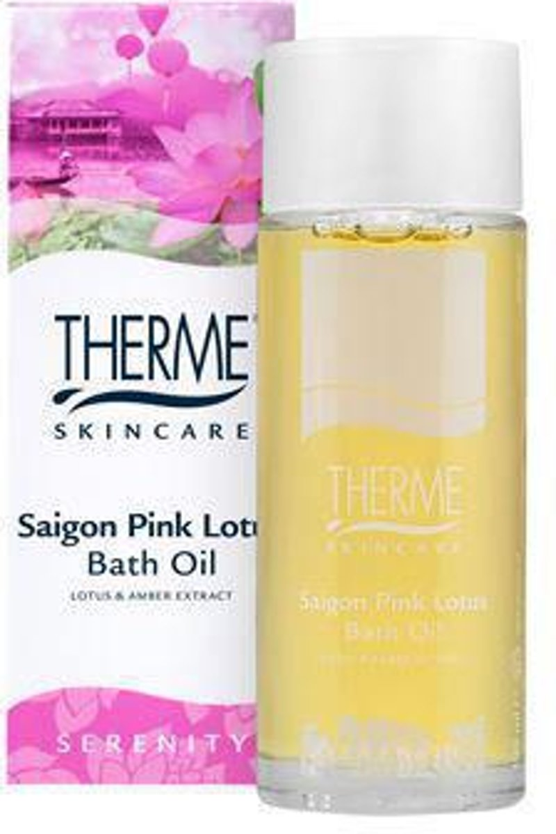 Therme Saigon Pink Lotus Badolie 100ml