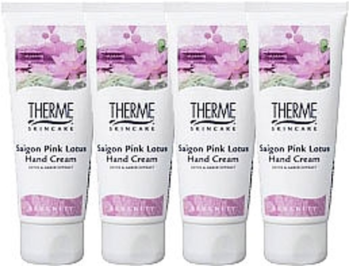 Therme Saigon Pink Lotus Bath And Showergel Voordeelverpakking