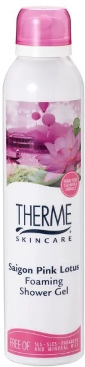 Therme Saigon Pink Lotus Foaming Shower Gel 200ml