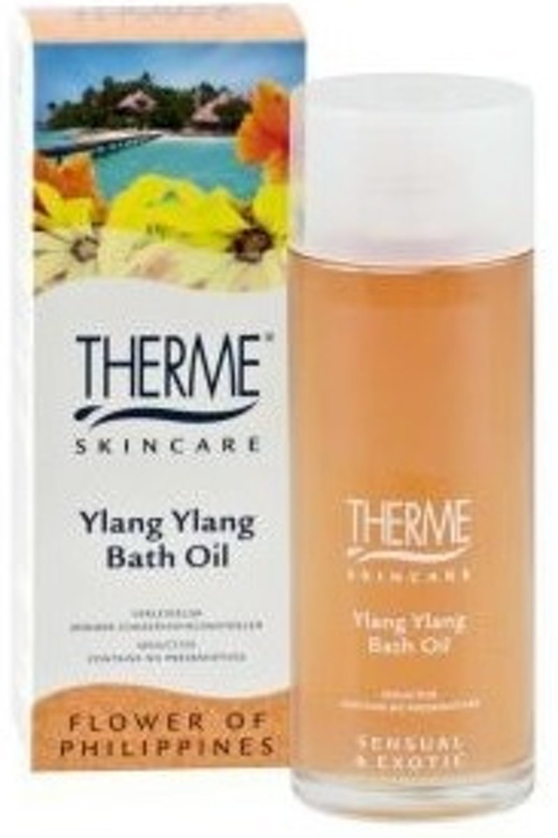 Therme Ylang Ylang Badolie 100ml
