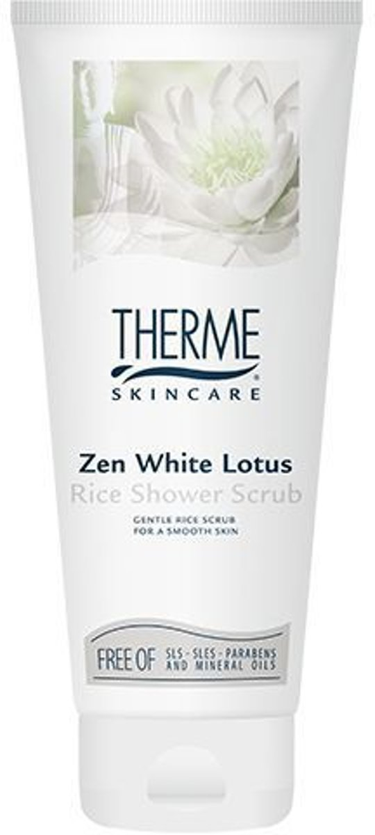 Therme Zen White Lotus -  200 ml - Douche Scrub
