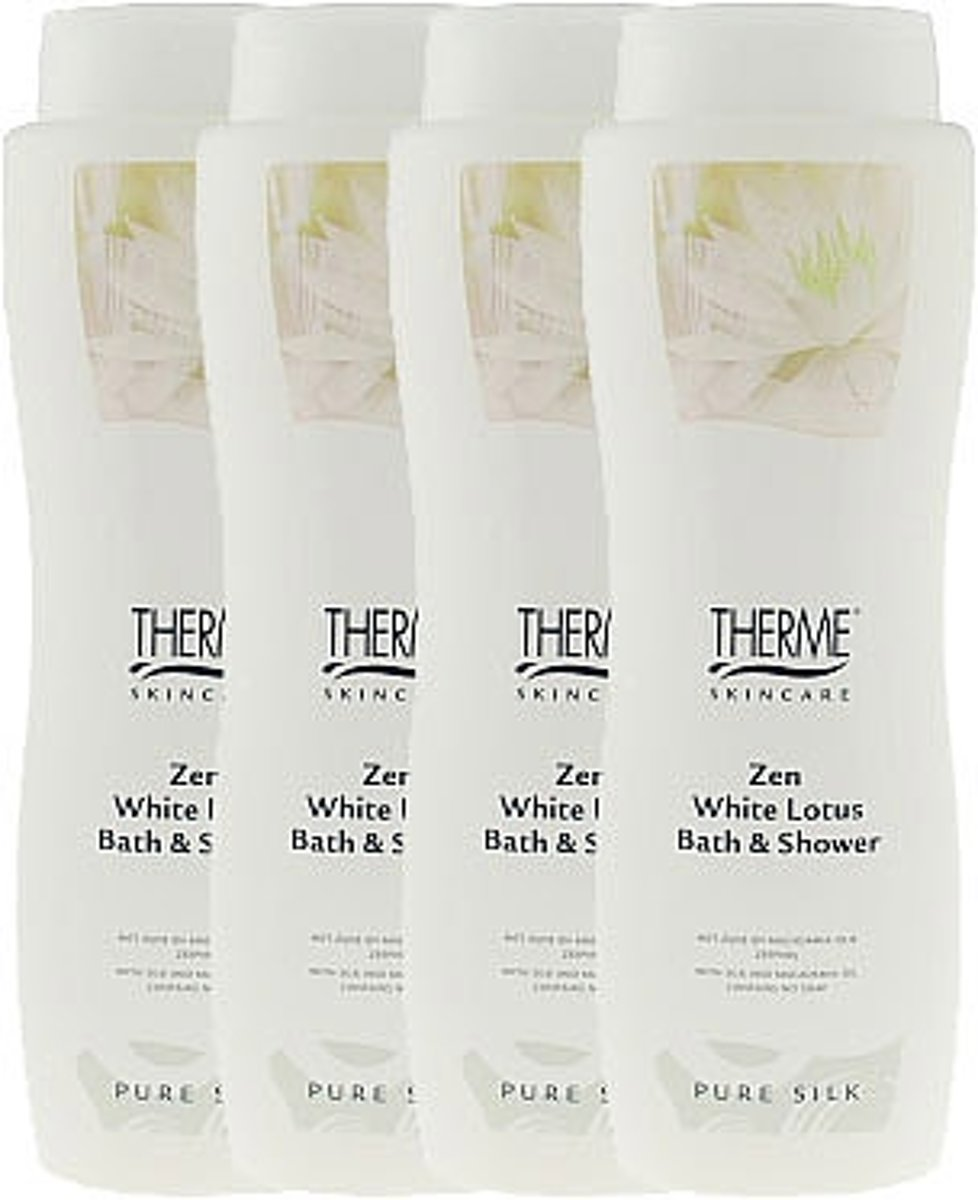 Therme Zen White Lotus Bath And Shower Voordeelverpakking