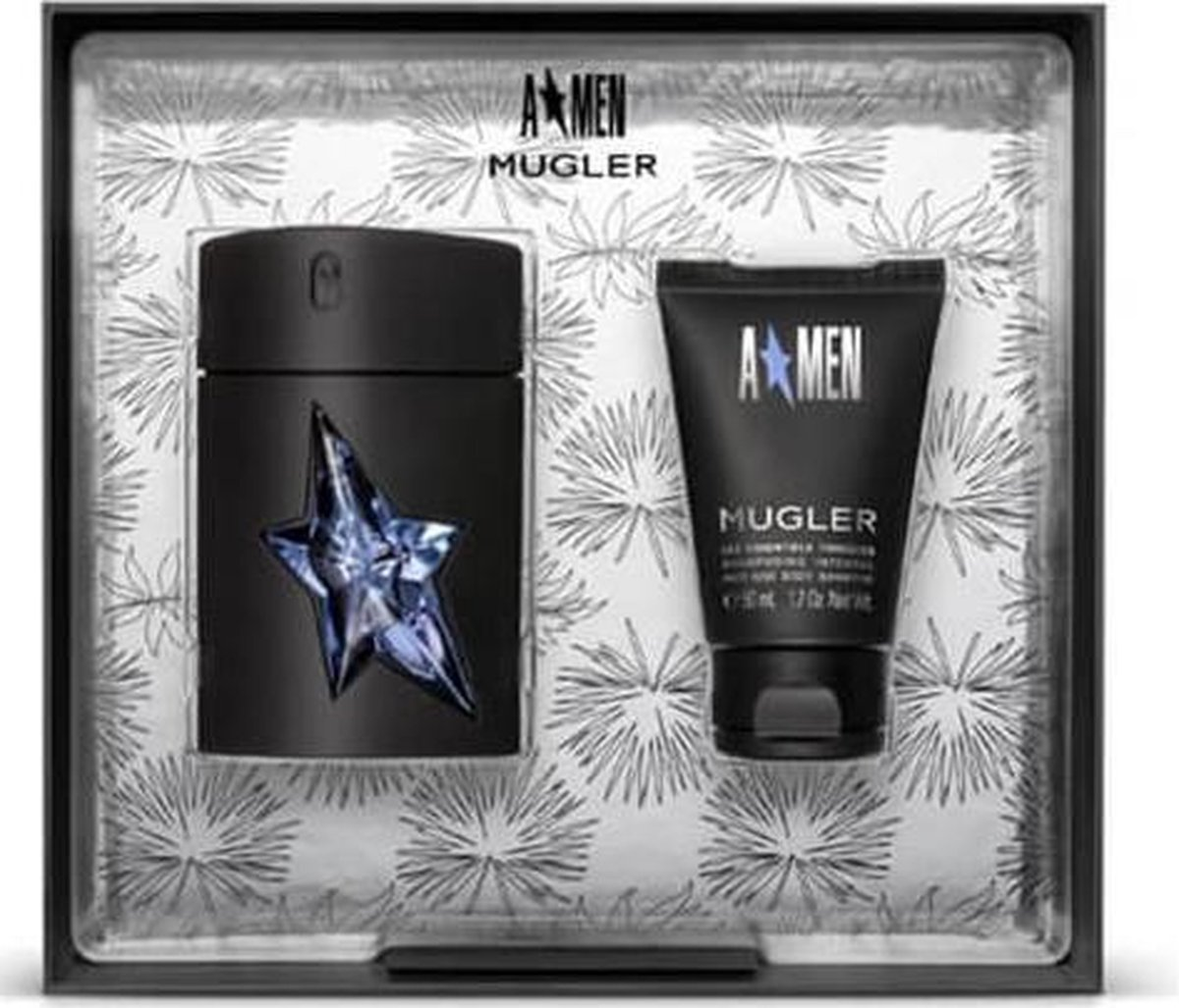 Mugler A Men Eau De Toilette Spray 50ml Set 2 Pieces 2019