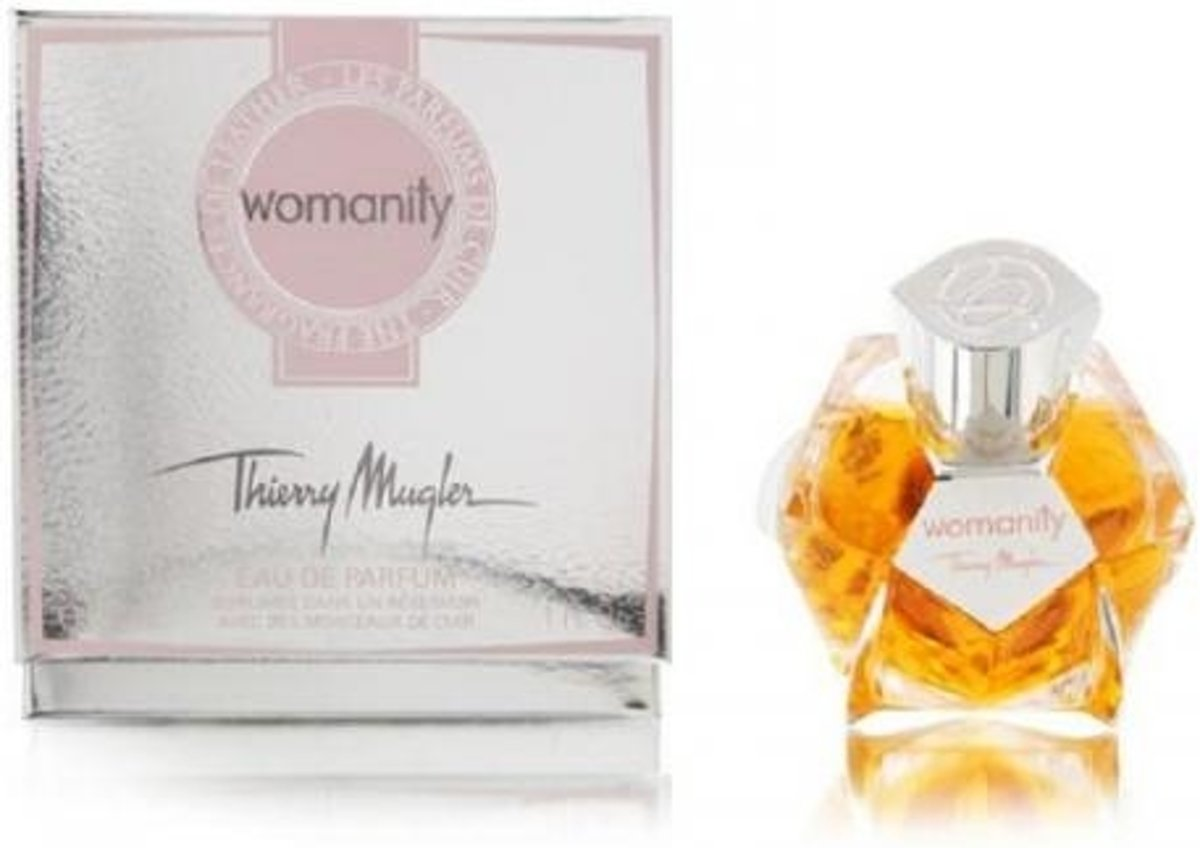 Thierry Mugler Eau De Parfum Womanity The Fragrance Of Leather 30 ml - Voor Vrouwen