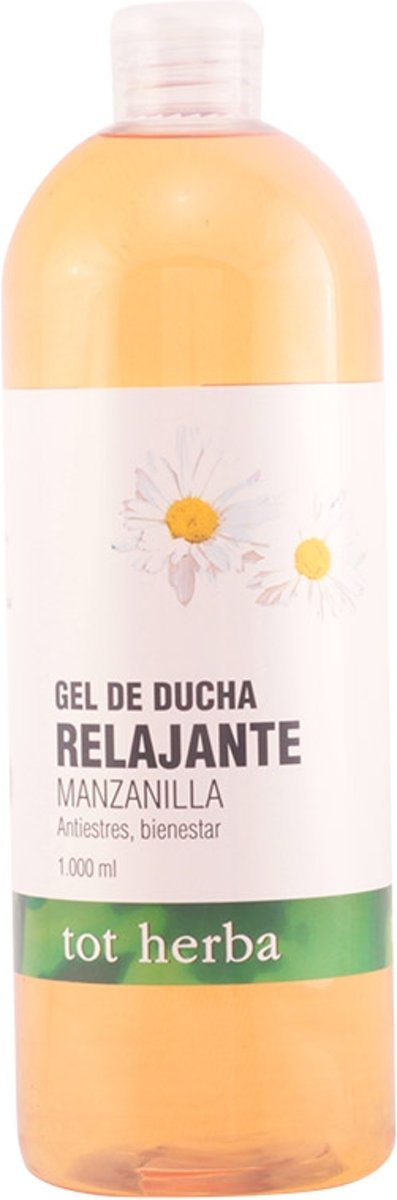 MULTI BUNDEL 5 stuks Tot Herba Relaxing Shower Gel Chamomile 1000ml