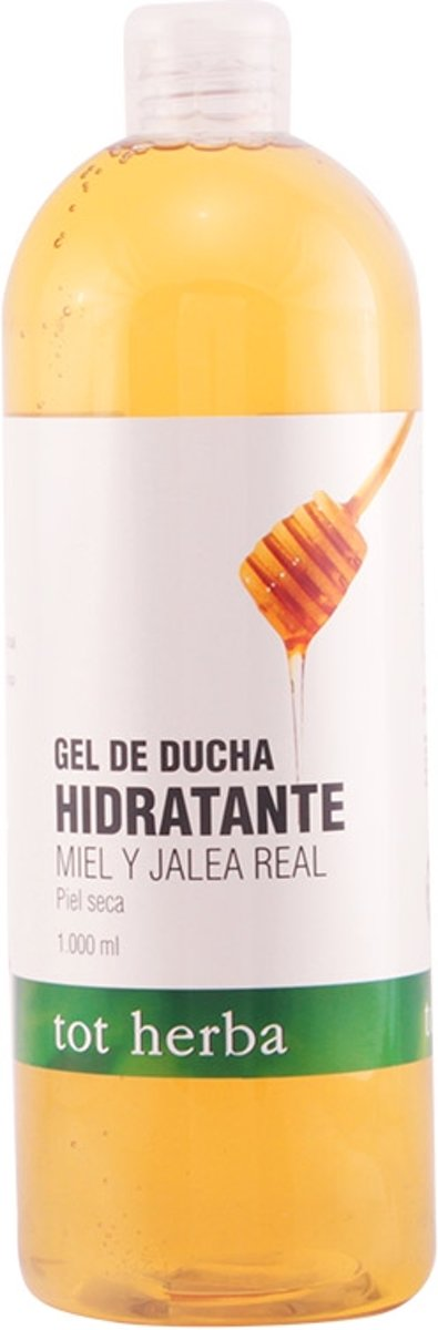 MULTI BUNDEL 5 stuks Tot Herba Shower Gel Honey And Jelly 1000ml
