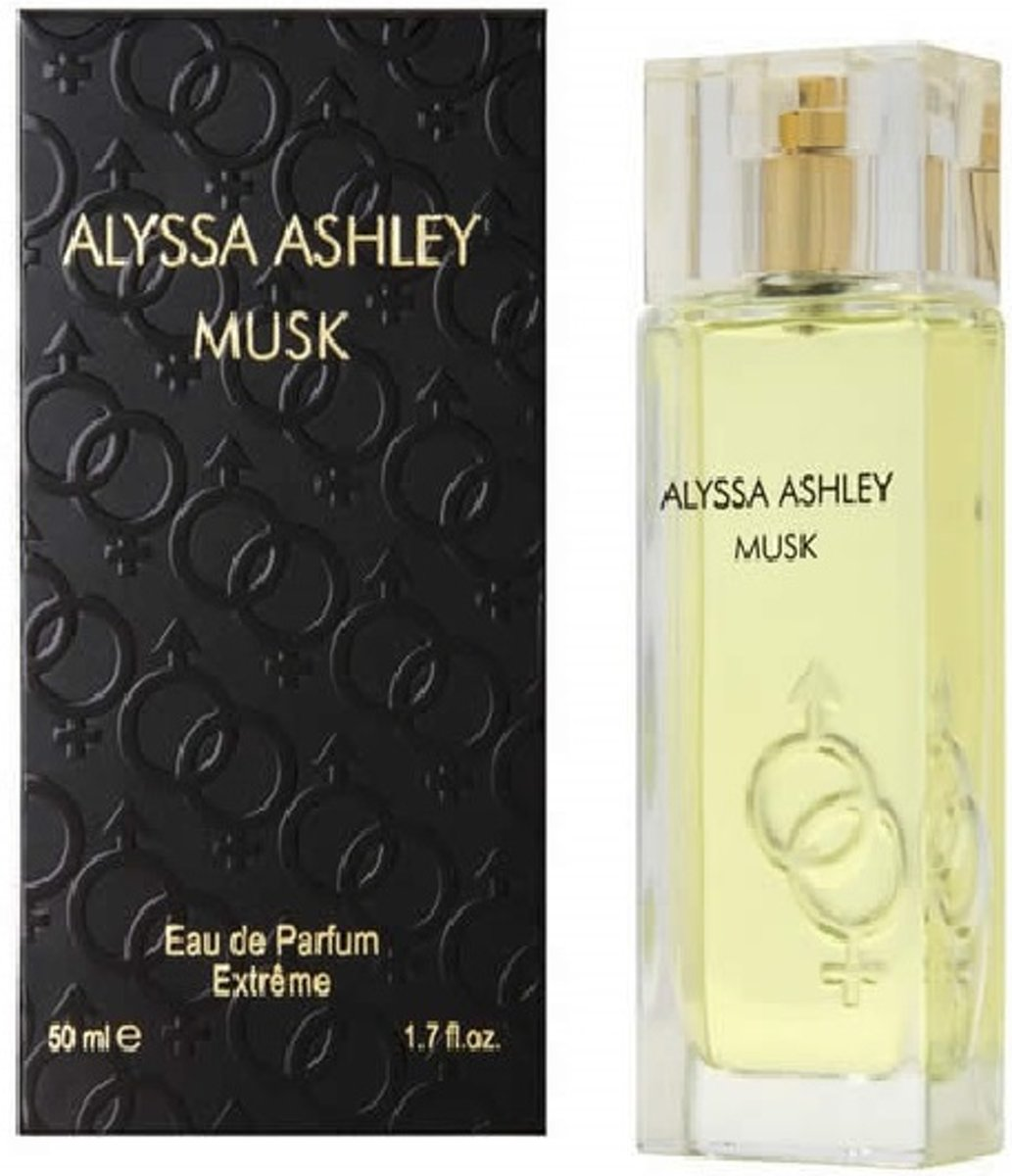 Alyssa Ashley Musk Eau de Parfum Extreme - Damesgeur - 50 ml