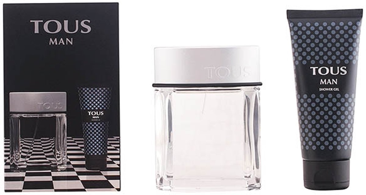 Geschenkset TOUS TOUS MAN ORIGIN SET 2 stuks tous man origin eau de toilette spray 100 ml + douche gel 100 ml