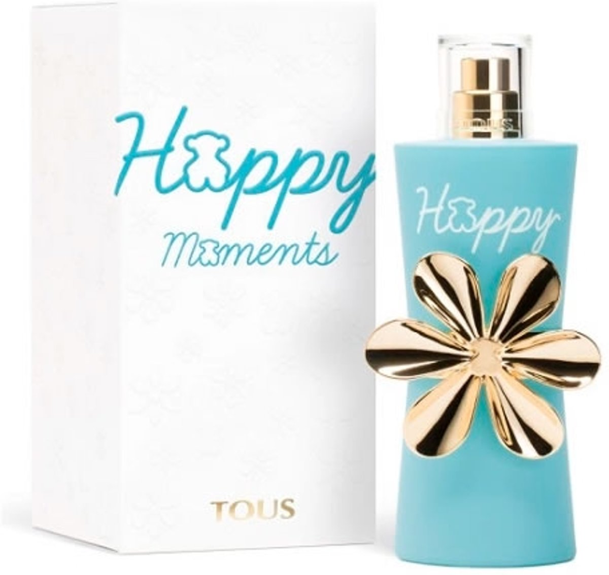 MULTI BUNDEL 2 stuks Tous Happy Moments Eau De Toilette Spray 50ml