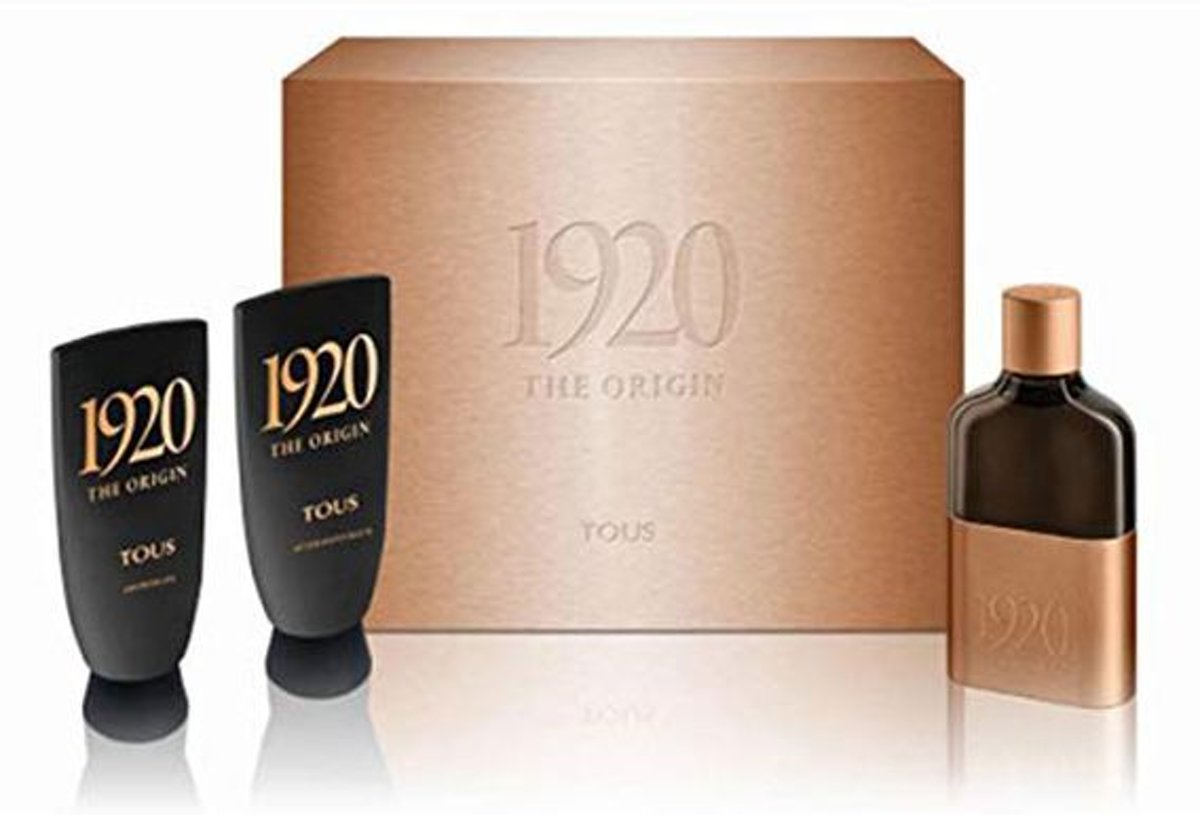 Parfumset voor Heren 1920 The Origin Tous (3 pcs)