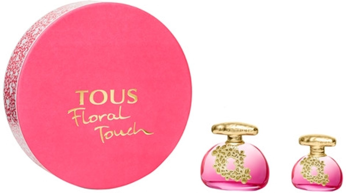 Tous Floral Touch Gift set 100 ml eau de toilette spray + 30 ml eau de toilette spray