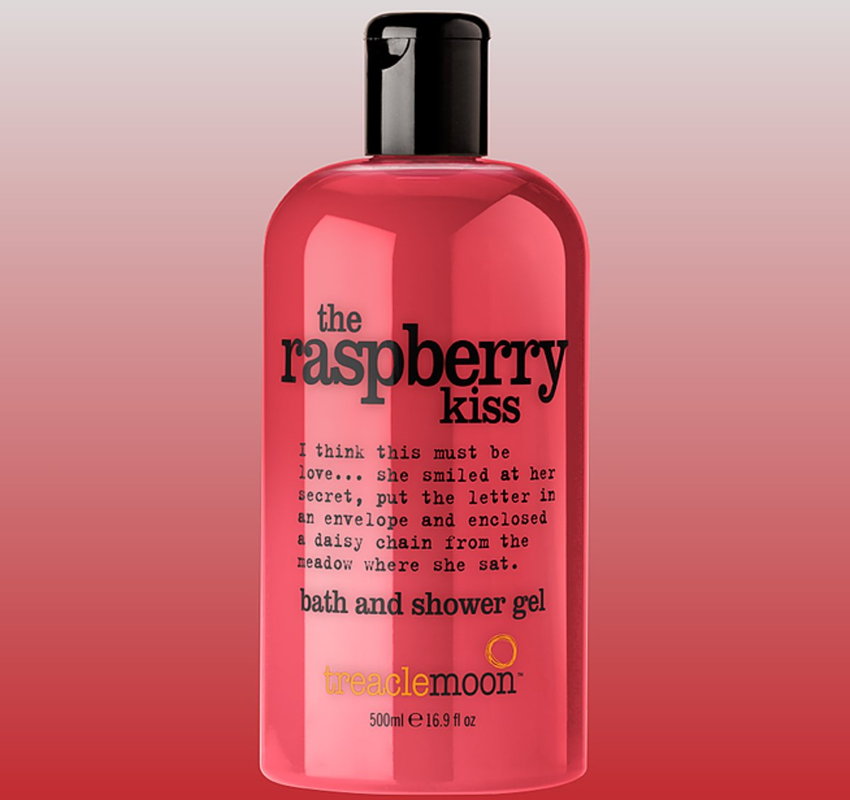 The Raspberry Kiss - Bath and Shower - 500 ml
