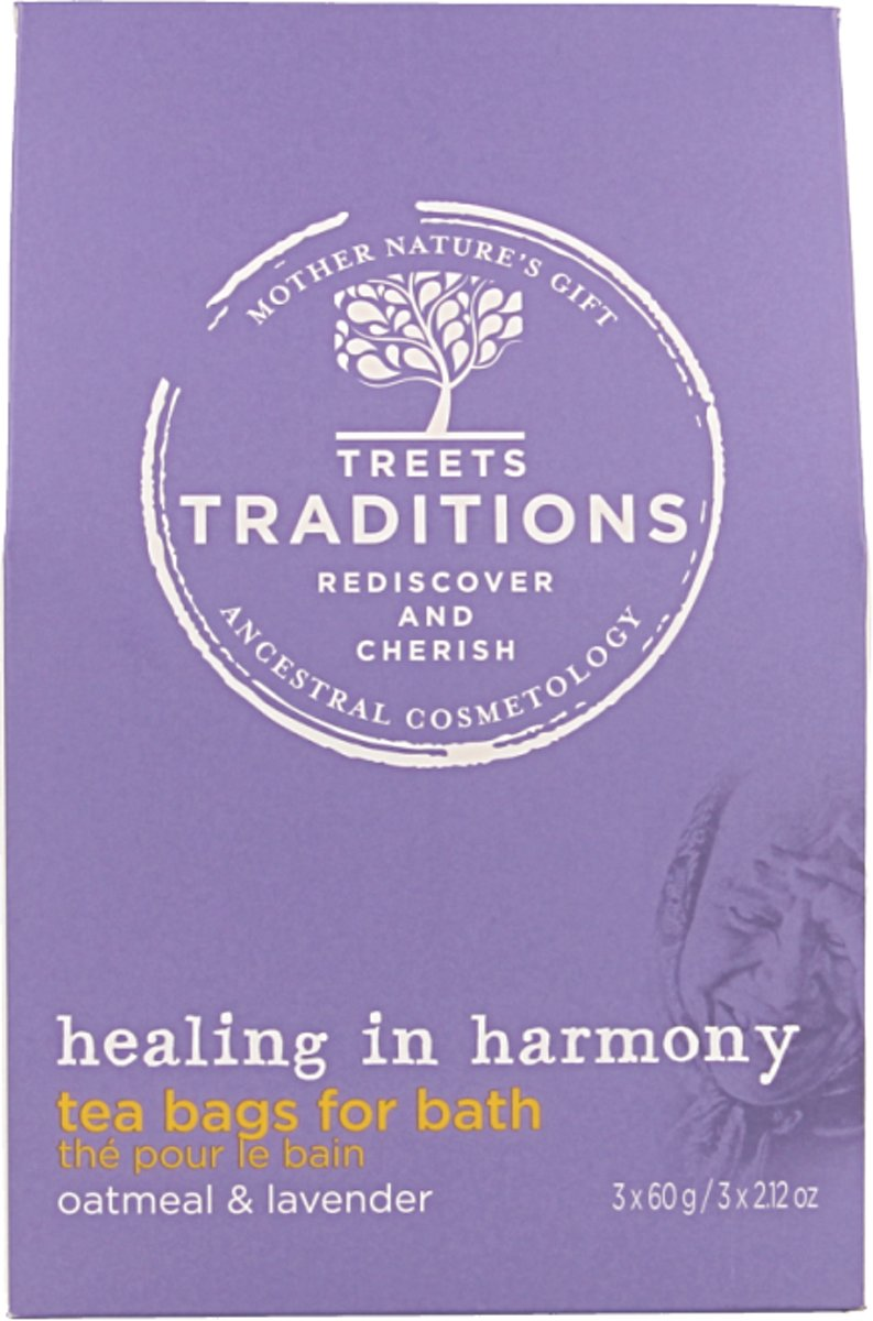 Treets Traditions Healing badthee - 70 gr