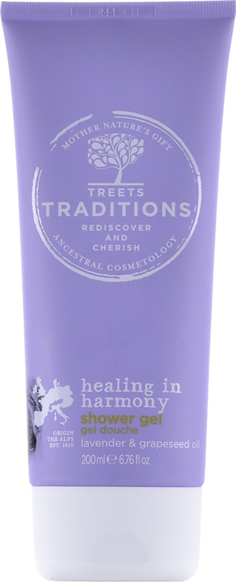 Treets showergel heal.i.harm. 200 ml