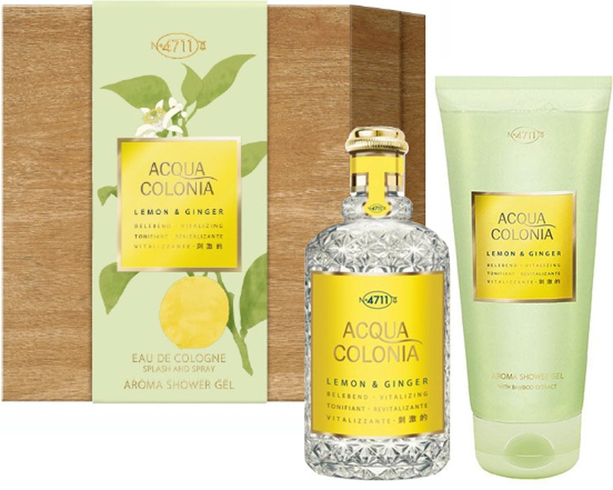 4711 Acqua Colonia Lemon & Ginger Gift set 2 st.