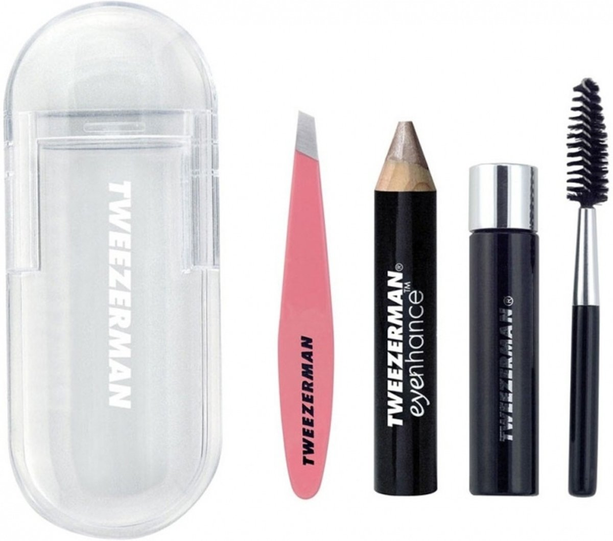Tweezerman Mini Brow Rescue Kit Verzorgingsset 1 set