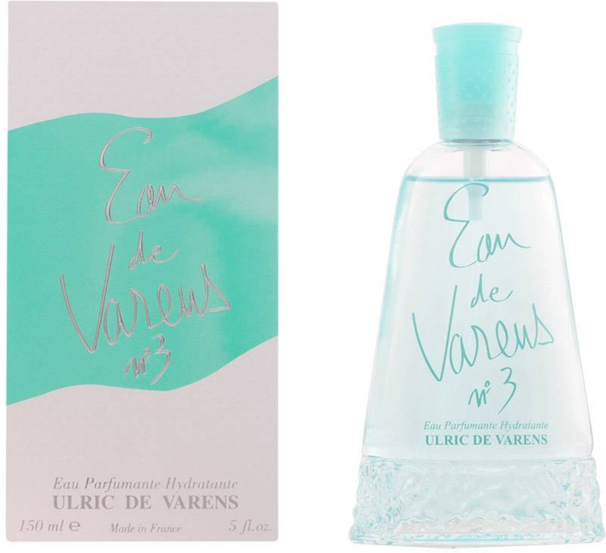 EAU DE VARENS Nº3 verde eau de toilette spray 150 ml