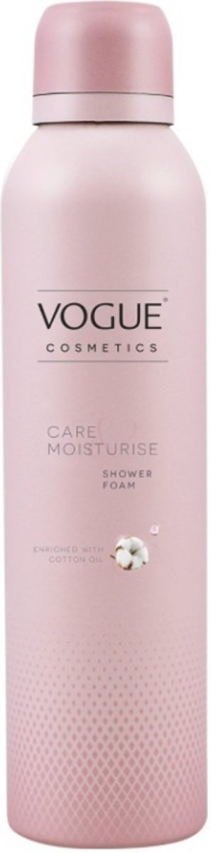VOGUE Cosmetics Care & Moisturise Shower Foam 200 ml