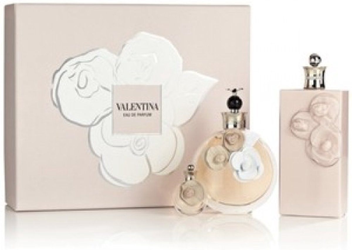 Valentino Valentina Gift Set 80ml EDP + 100ml Body Lotion + 4ml EDP Mini