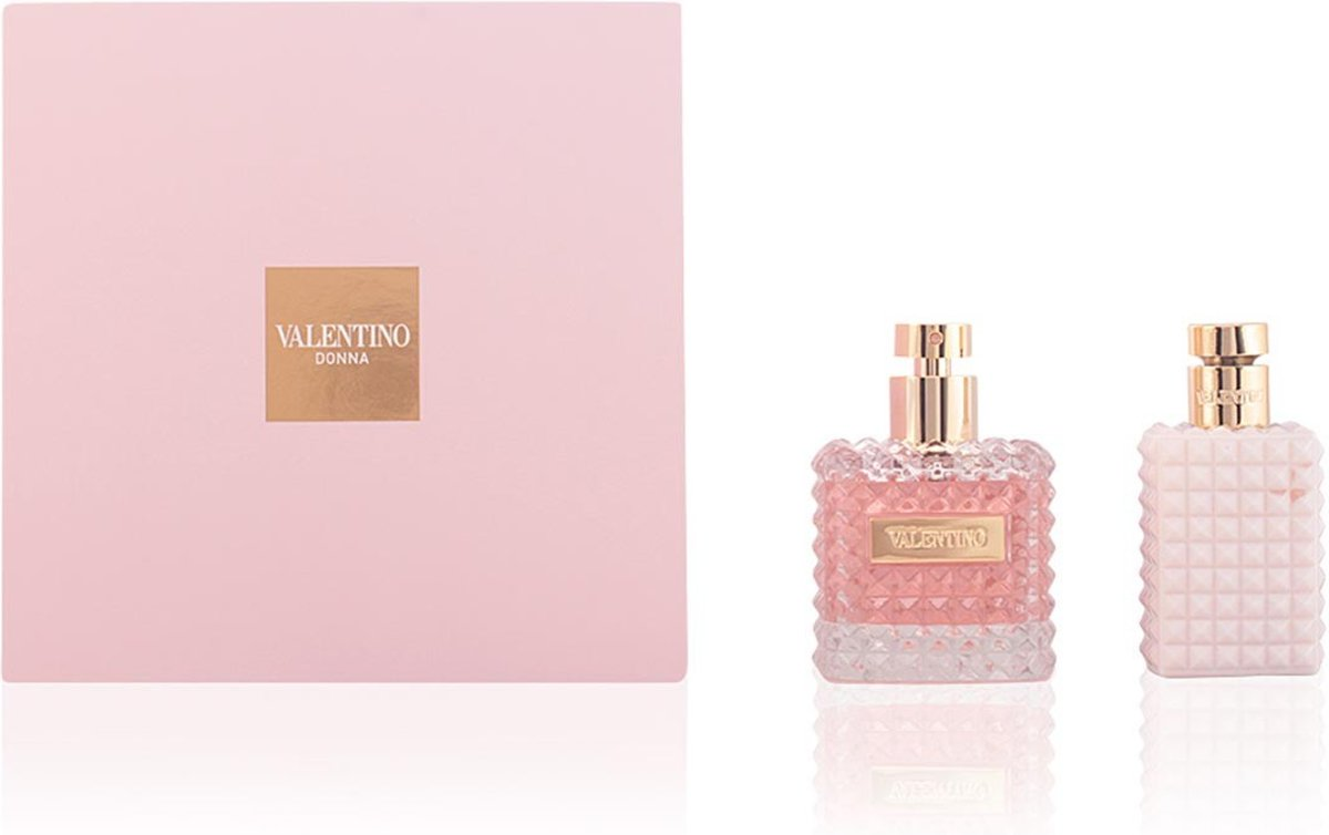 Valentino Donna 100 ml Edp + 100 ml Bodylotion set