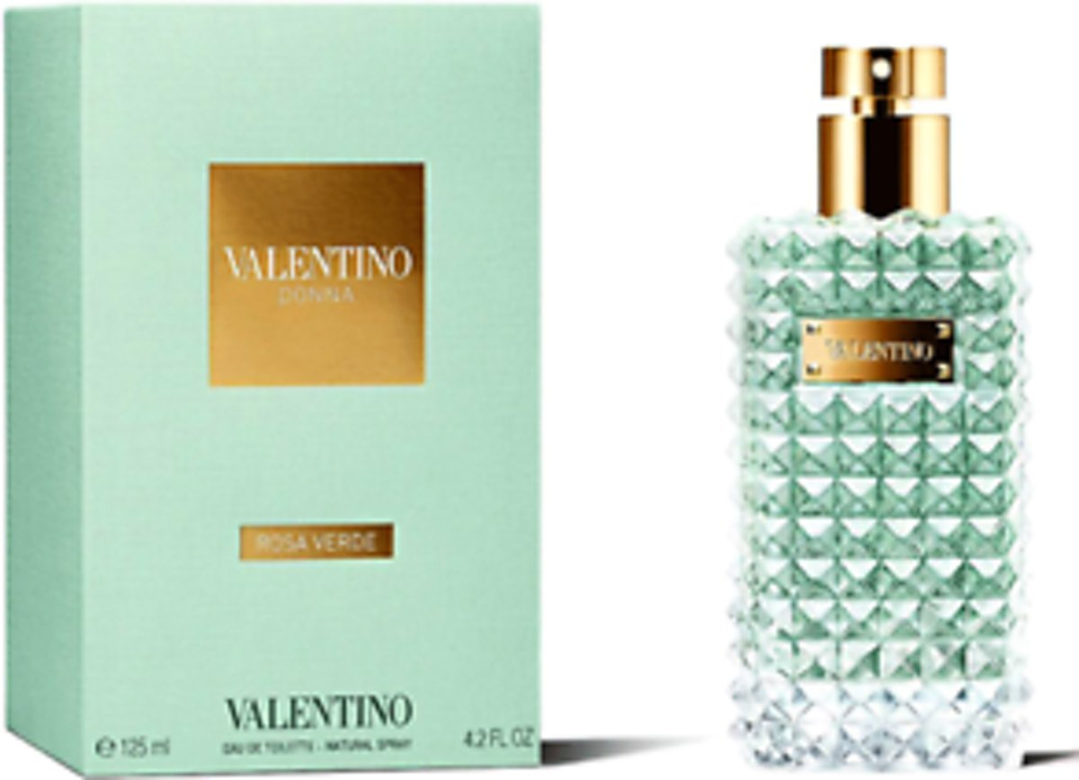 Valentino donna rose verde edts 125 ml spray