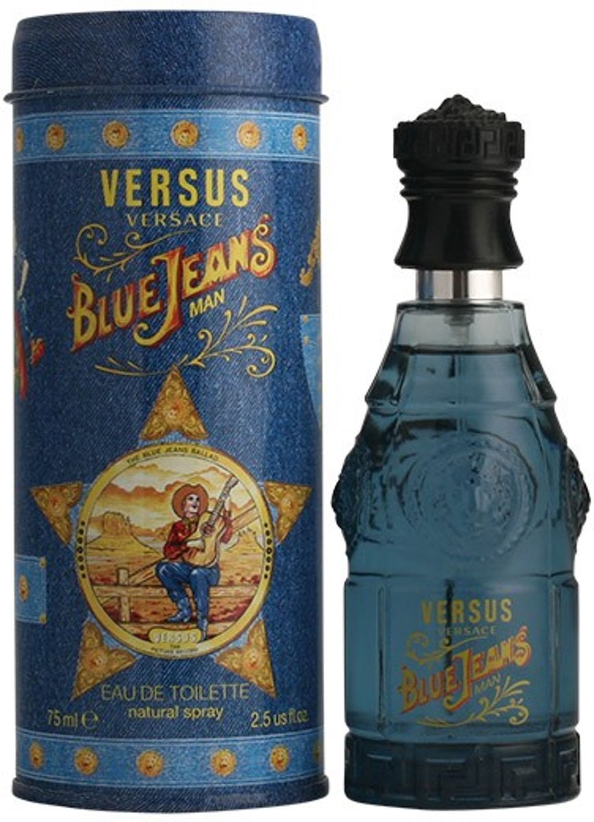 MULTI BUNDEL 2 stuks BLUE JEANS eau de toilette spray 75 ml
