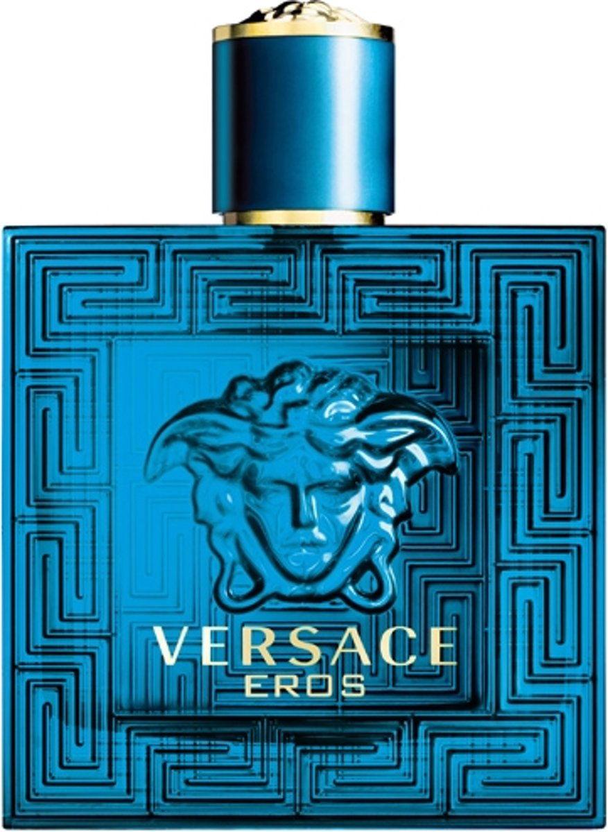 MULTI BUNDEL 2 stuks Versace Eros Eau De Toilette Spray 100ml