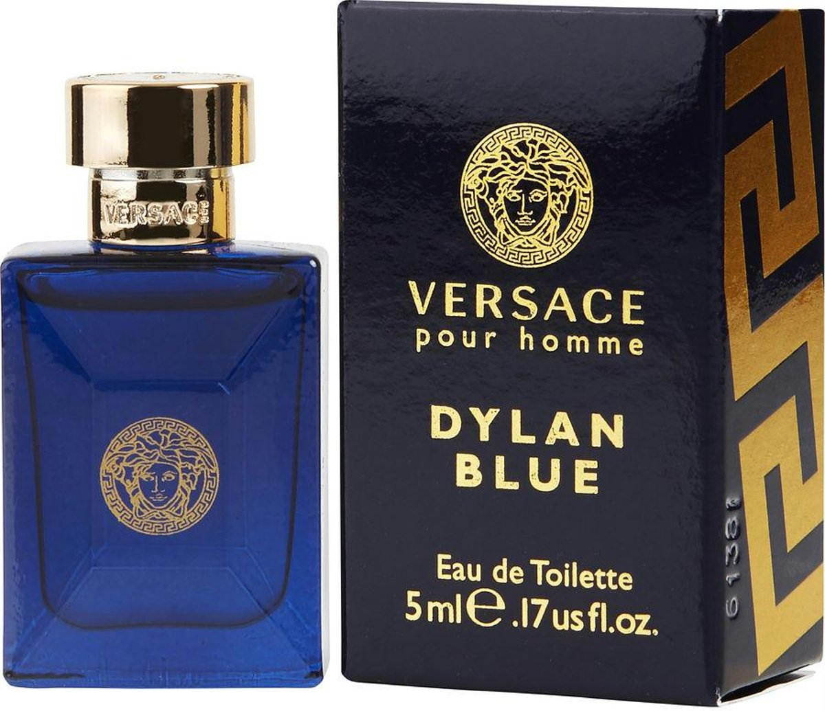 Versace Dylan Blue By Gianni Versace Edt  Mini - Fragrances For Men