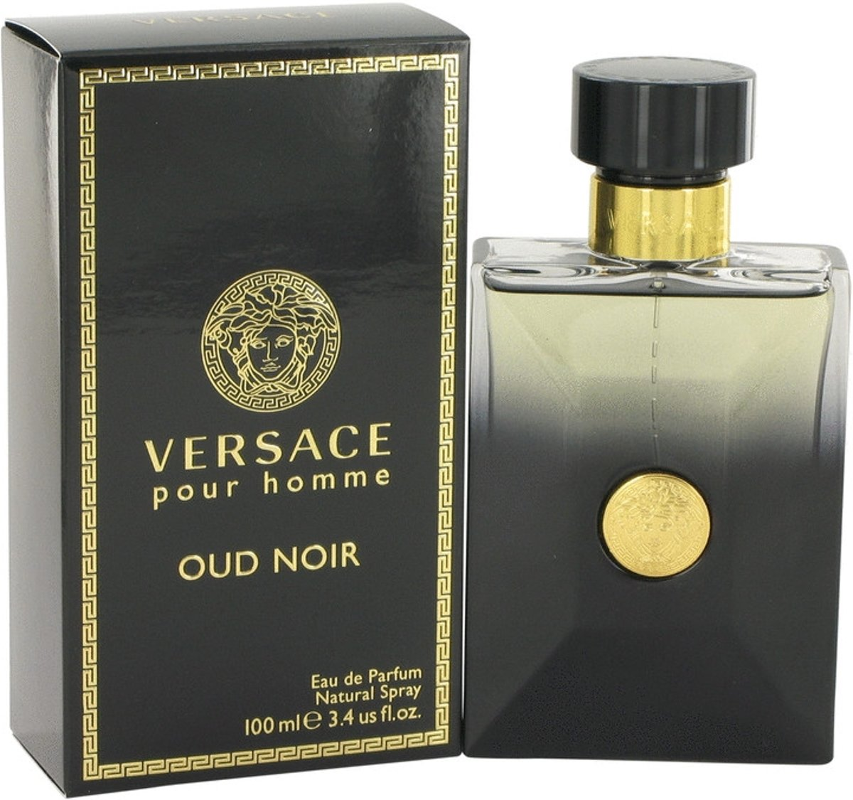 Versace Pour Homme Oud Noir By Gianni Versace Eau De Parfum Spray 100 ml - Fragrances For Men