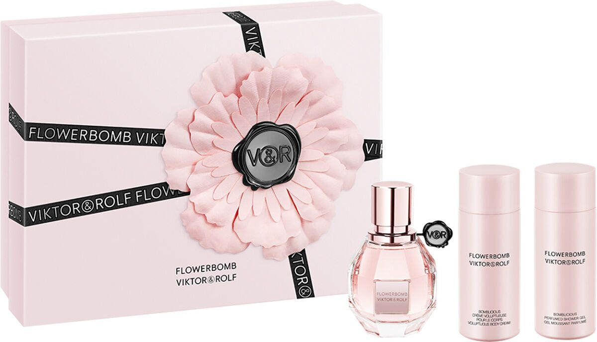 Viktor & Rolf Viktor & Rolf - Eau de parfum - Flowerbomb 30ml eau de parfum + 50ml Bodylotion + 50ml showergel - Gifts ml