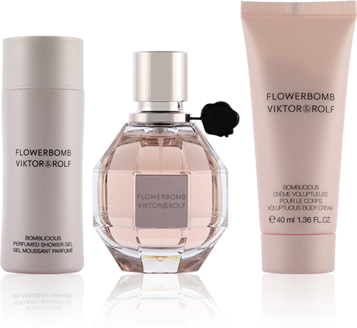 Viktor & Rolf Viktor & Rolf - Eau de parfum - Flowerbomb 50ml eau de parfum + 50ml showergel + 40ml bodycream - Gifts ml