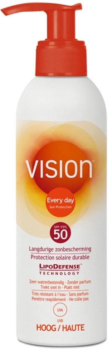 Vision Every Day Sun Protection Pomp – SPF 50 – 200 ml