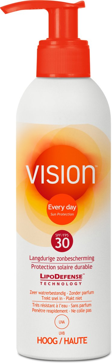 Vision Every Day Sun Protection Pomp – SPF 30 – 200 ml