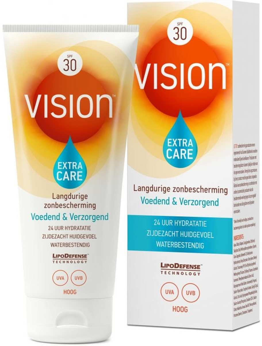 Vision Extra Care Zonnebrand - SPF 30 - 185 ml
