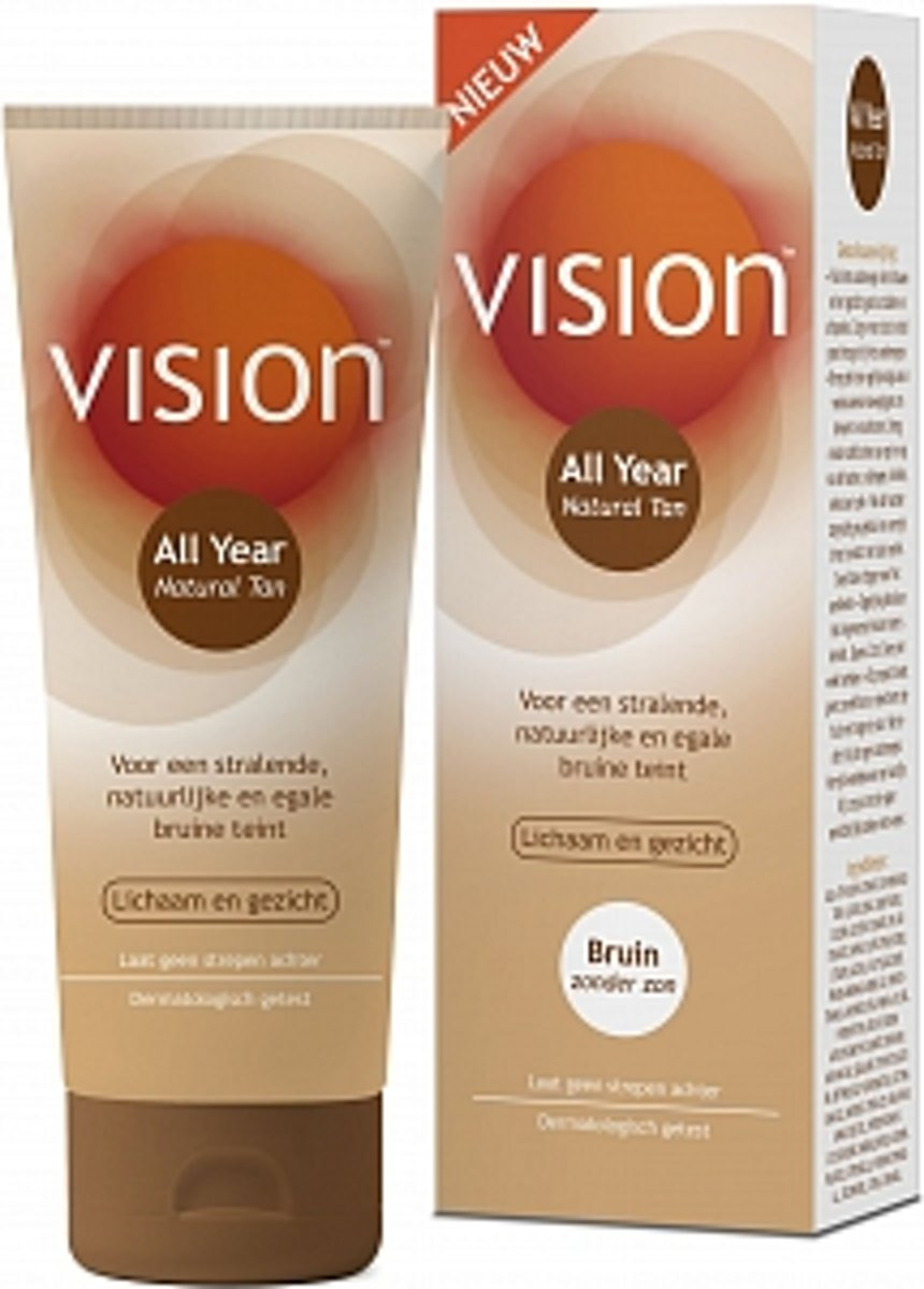 Vision Natural Tan – 120 ml
