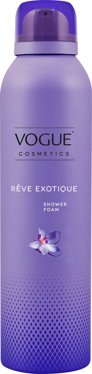 VOGUE Cosmetics Reve Exotique Shower Foam 200ml