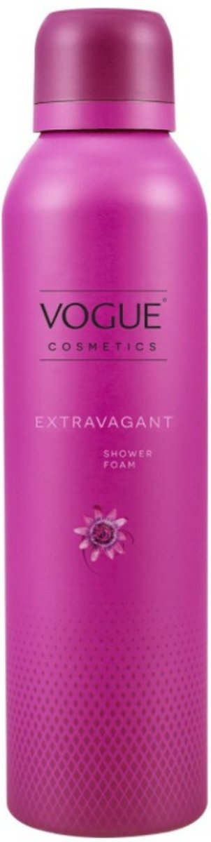 VOGUE Cosmetics Shower Foam Extravagant 200 ml