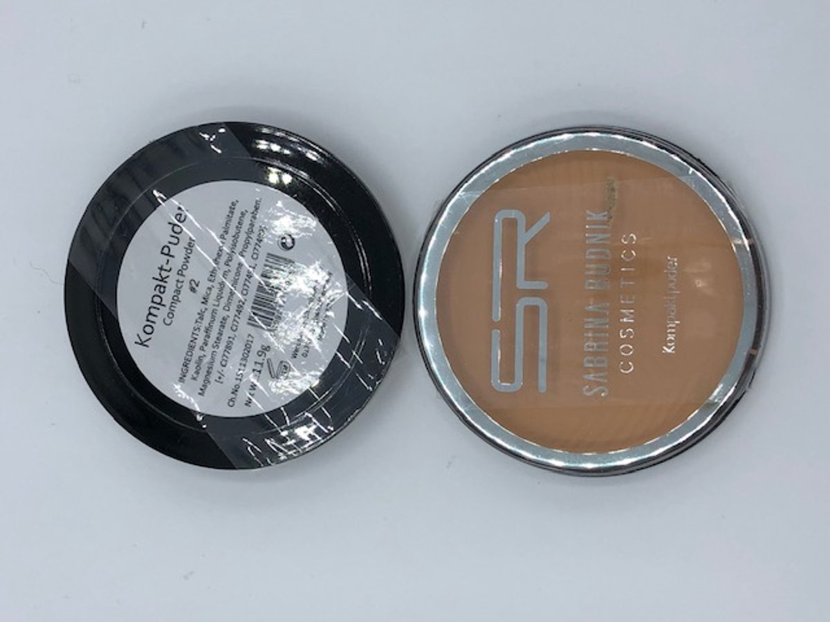 Compact foundation poeder