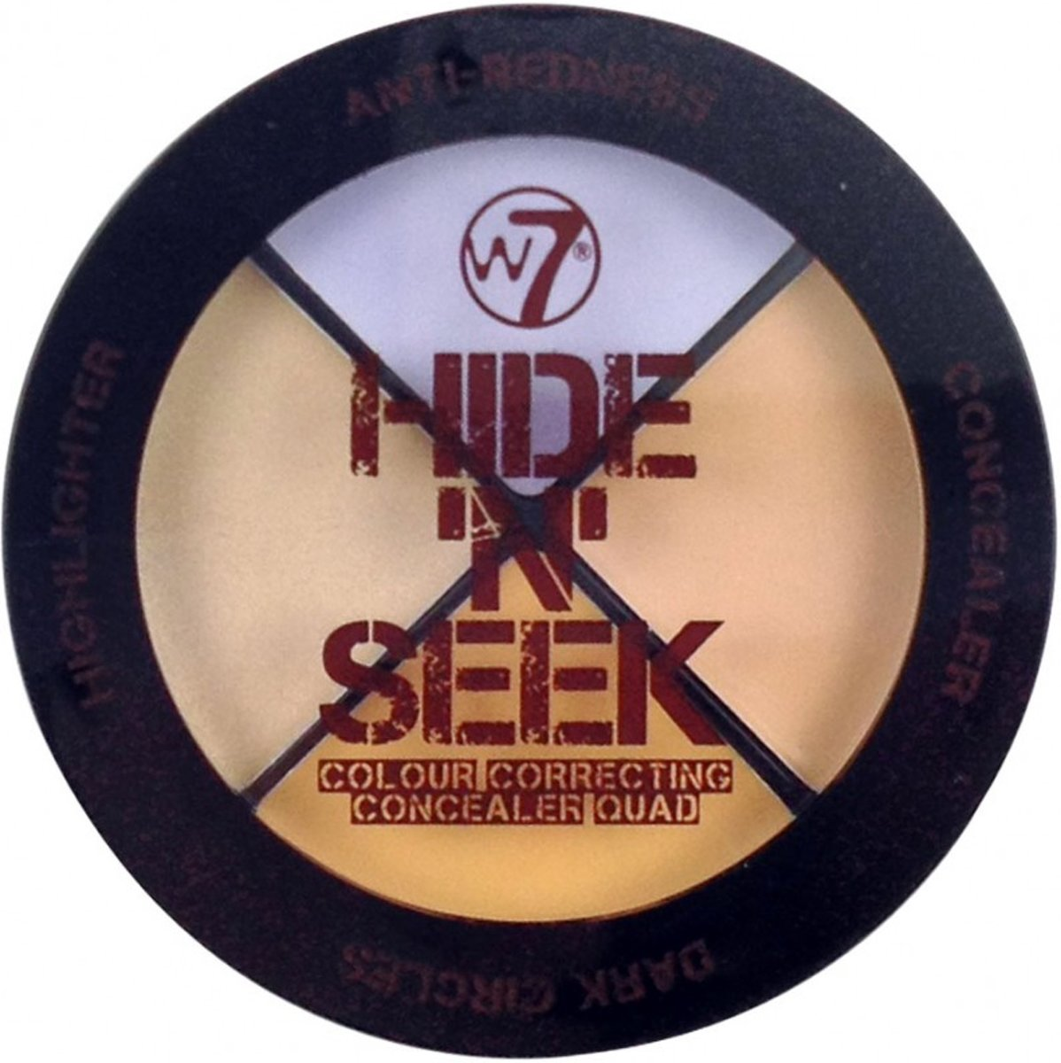 W7 Make-Up Hide n Seek Concealer Quad