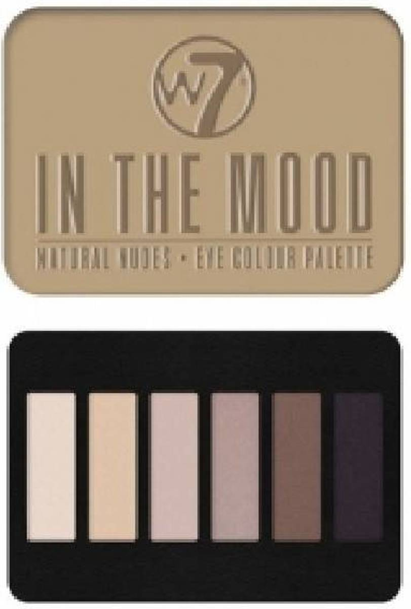 W7 Palette In The Mood - Oogschaduw Palet