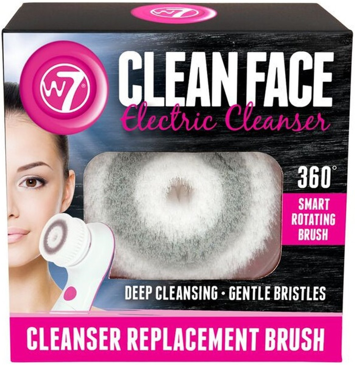 W7 Electric Face Cleanser - Refil Brush
