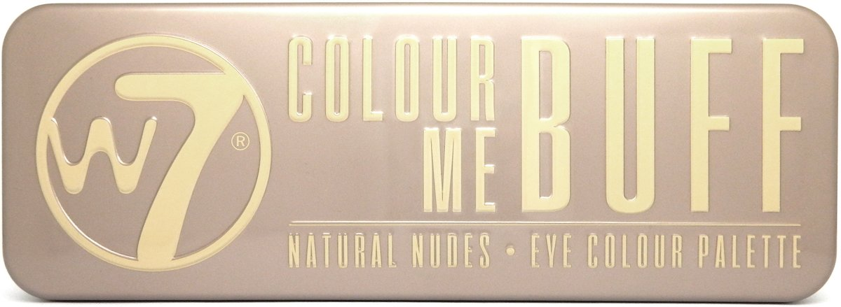 W7 Natural Nudes Eye Colour Palette - In The Buff - Oogschaduw Palet