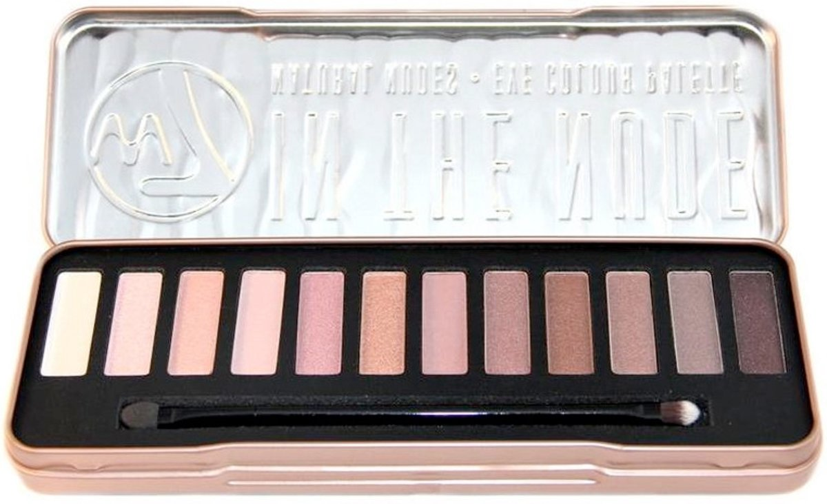 W7 Natural Nudes  Oogschaduw Palette - In The Nude