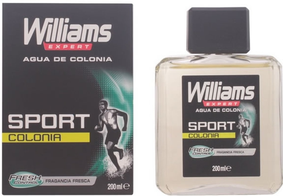 MULTI BUNDEL 2 stuks Williams Expert Sport Eau De Cologne 200ml