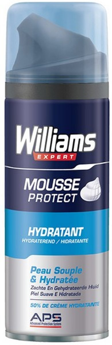 Scheerschuim Williams Droge huid (200 Ml)